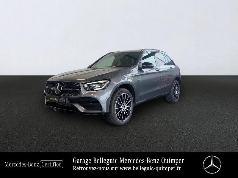 Mercedes GLC 300 de 194+122ch AMG Line 4Matic 9G-Tronic Gris occasion à QUIMPER