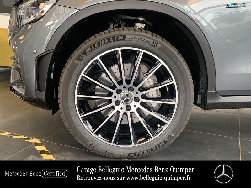 Mercedes GLC 300 de 194+122ch AMG Line 4Matic 9G-Tronic Gris occasion à QUIMPER - photo n°13
