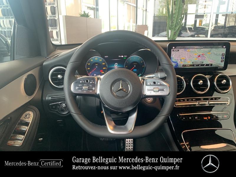 Mercedes GLC 300 de 194+122ch AMG Line 4Matic 9G-Tronic Gris occasion à QUIMPER - photo n°7