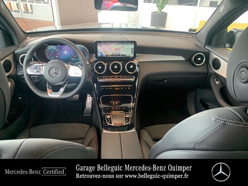 Mercedes GLC 300 de 194+122ch AMG Line 4Matic 9G-Tronic Gris occasion à QUIMPER - photo n°6