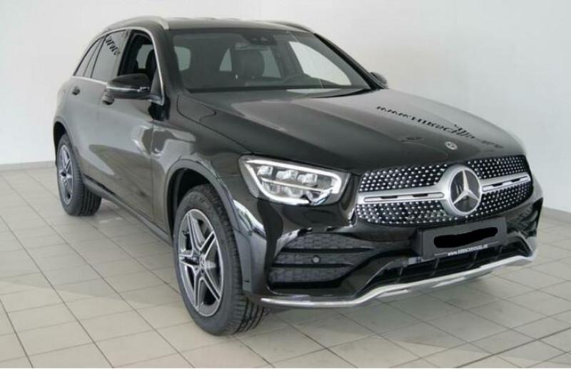Mercedes GLC 300 E 211+122CH AMG LINE 4MATIC 9G-TRONIC EURO6D-T-EVAP-ISC Noir occasion à Villenave-d'Ornon
