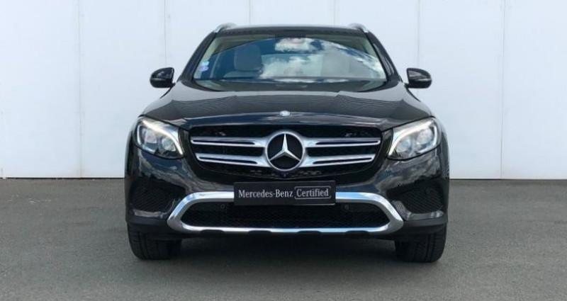 Mercedes GLC 350 e 211+116ch Fascination 4Matic 7G-Tronic plus Noir occasion à Angers Villeveque - photo n°2