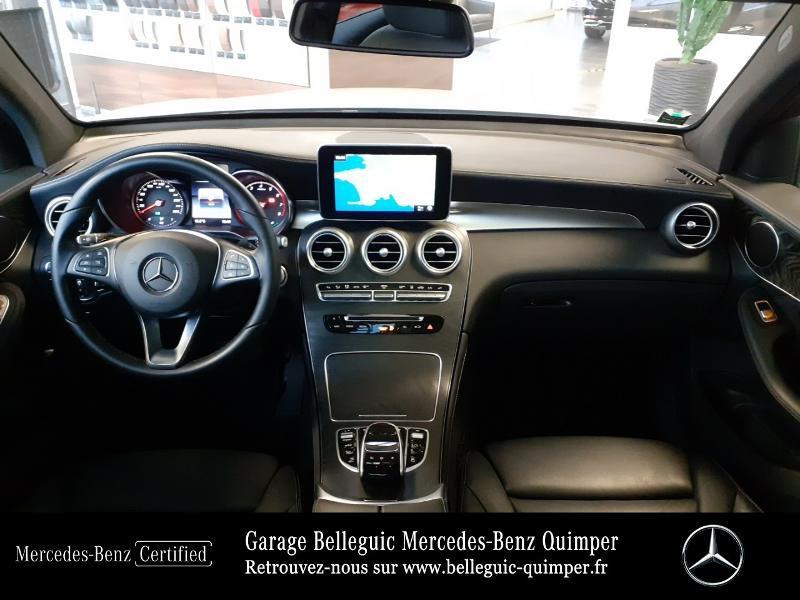 Mercedes GLC 350 e 211+116ch Fascination 4Matic 7G-Tronic plus Argent occasion à QUIMPER - photo n°6