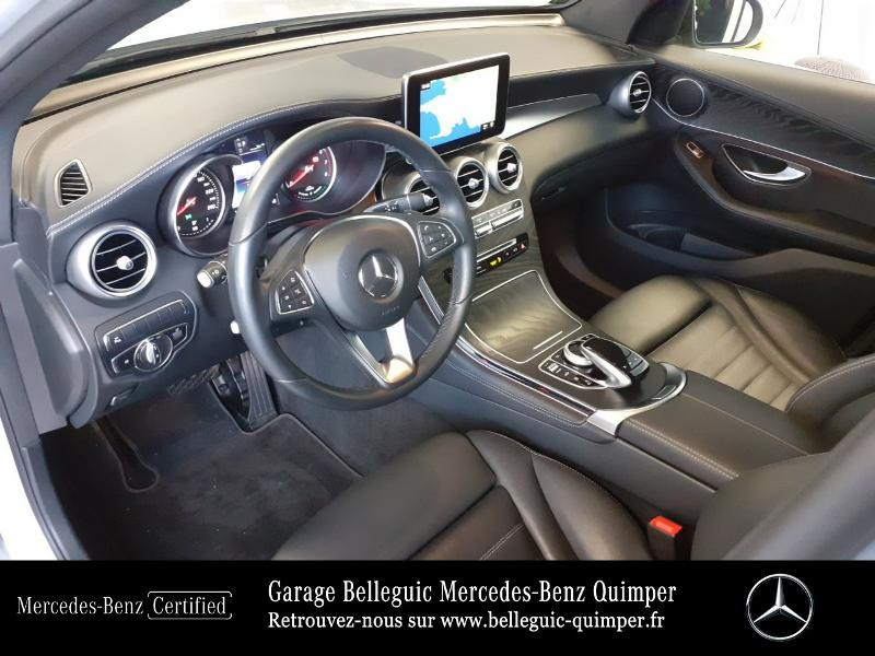 Mercedes GLC 350 e 211+116ch Fascination 4Matic 7G-Tronic plus Argent occasion à QUIMPER - photo n°18