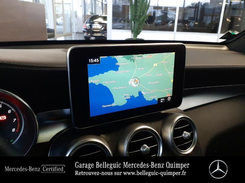Mercedes GLC 350 e 211+116ch Fascination 4Matic 7G-Tronic plus Argent occasion à QUIMPER - photo n°8