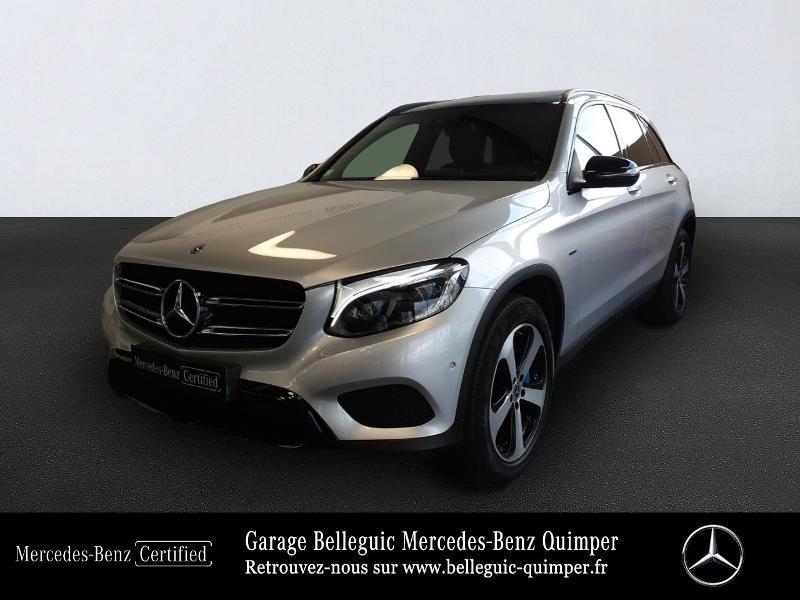 Mercedes GLC 350 e 211+116ch Fascination 4Matic 7G-Tronic plus Argent occasion à QUIMPER