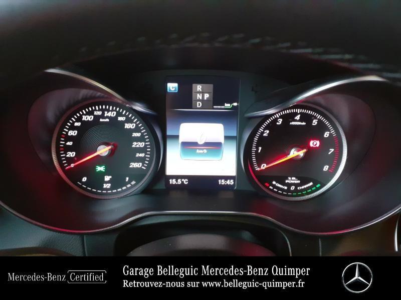 Mercedes GLC 350 e 211+116ch Fascination 4Matic 7G-Tronic plus Argent occasion à QUIMPER - photo n°9