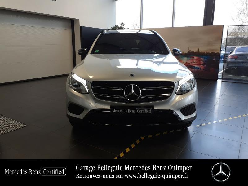 Mercedes GLC 350 e 211+116ch Fascination 4Matic 7G-Tronic plus Argent occasion à QUIMPER - photo n°5