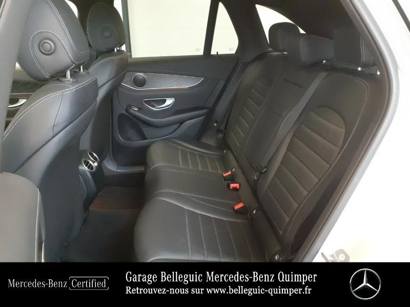 Mercedes GLC 350 e 211+116ch Fascination 4Matic 7G-Tronic plus Argent occasion à QUIMPER - photo n°11