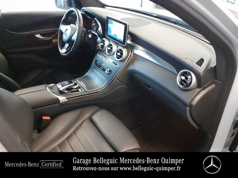 Mercedes GLC 350 e 211+116ch Fascination 4Matic 7G-Tronic plus Argent occasion à QUIMPER - photo n°19