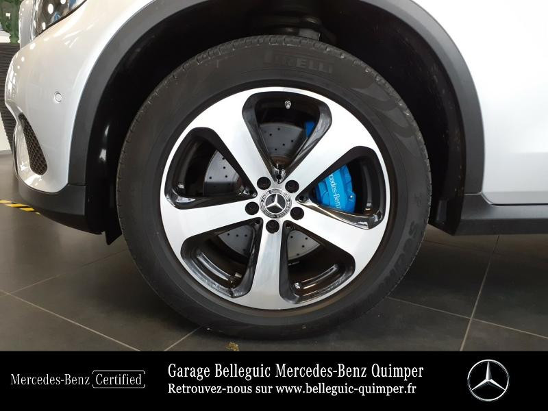 Mercedes GLC 350 e 211+116ch Fascination 4Matic 7G-Tronic plus Argent occasion à QUIMPER - photo n°15