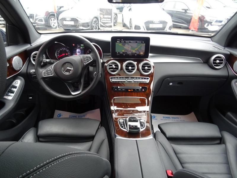 Mercedes GLC 350 e 211+116ch Fascination 4Matic 7G-Tronic plus Bleu occasion à Barberey-Saint-Sulpice - photo n°11