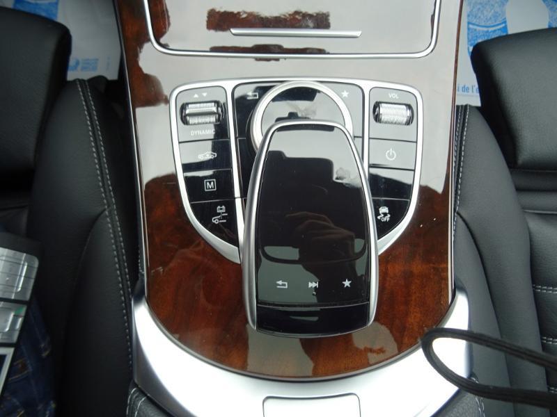 Mercedes GLC 350 e 211+116ch Fascination 4Matic 7G-Tronic plus Bleu occasion à Barberey-Saint-Sulpice - photo n°15