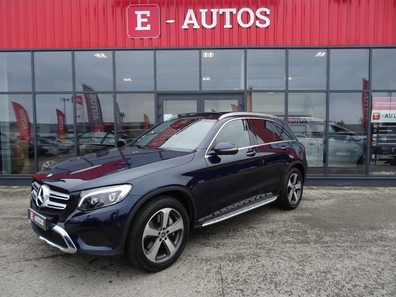 Mercedes GLC 350 e 211+116ch Fascination 4Matic 7G-Tronic plus Bleu occasion à Barberey-Saint-Sulpice