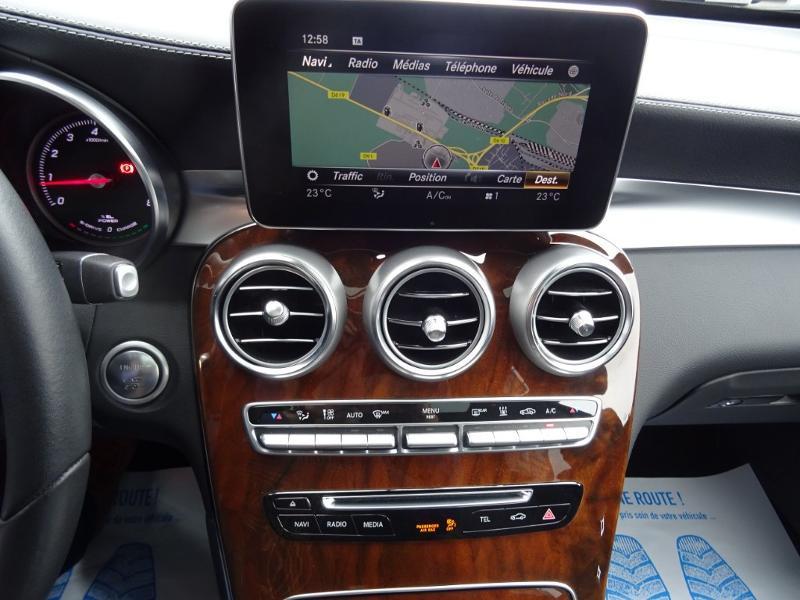 Mercedes GLC 350 e 211+116ch Fascination 4Matic 7G-Tronic plus Bleu occasion à Barberey-Saint-Sulpice - photo n°14