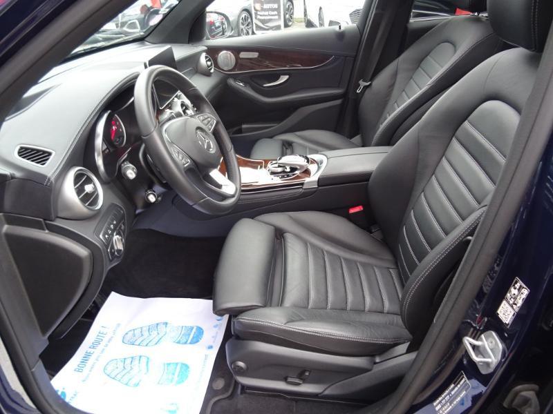 Mercedes GLC 350 e 211+116ch Fascination 4Matic 7G-Tronic plus Bleu occasion à Barberey-Saint-Sulpice - photo n°9