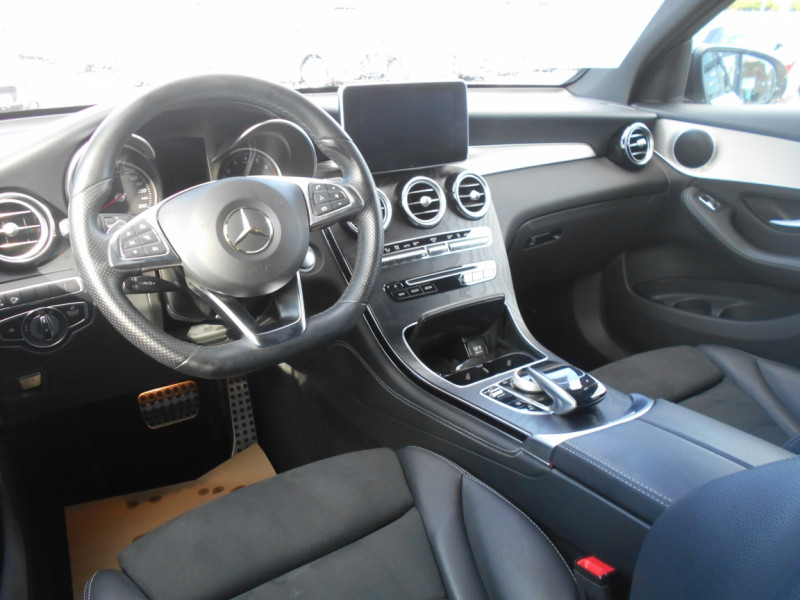 Mercedes GLC 350 e 7G-DCT 4Matic Sportline Blanc occasion à Bessières - photo n°2