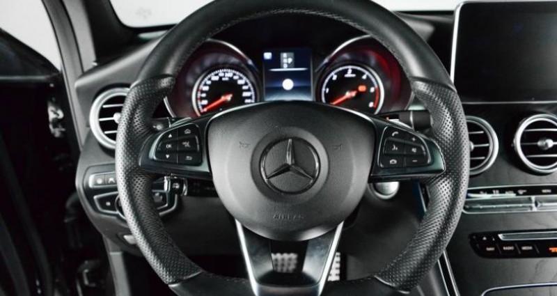 Mercedes GLC 350D 4MATIC 9G-TRONIC 258 CH Noir occasion à Paris - photo n°7