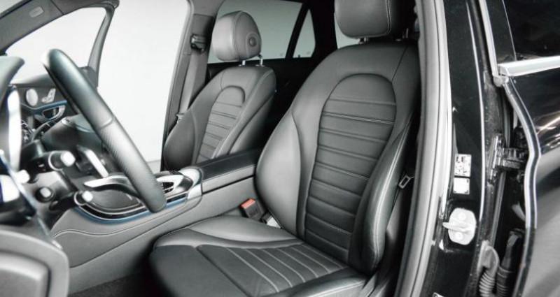 Mercedes GLC 350D 4MATIC 9G-TRONIC 258 CH Noir occasion à Paris - photo n°5