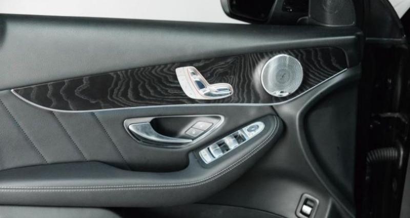 Mercedes GLC 350D 4MATIC 9G-TRONIC 258 CH Noir occasion à Paris - photo n°4