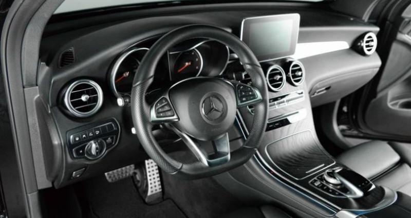 Mercedes GLC 350D 4MATIC 9G-TRONIC 258 CH Noir occasion à Paris - photo n°3