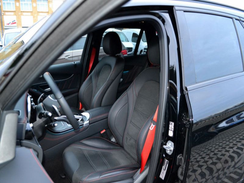 Mercedes GLC 43 4 Matic AMG Noir occasion à Beaupuy - photo n°4