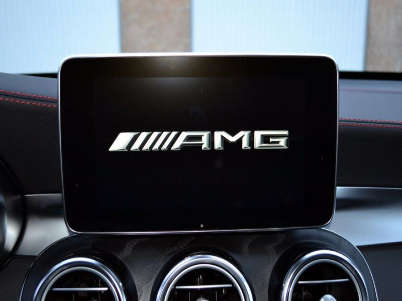 Mercedes GLC 43 4 Matic AMG Noir occasion à Beaupuy - photo n°8
