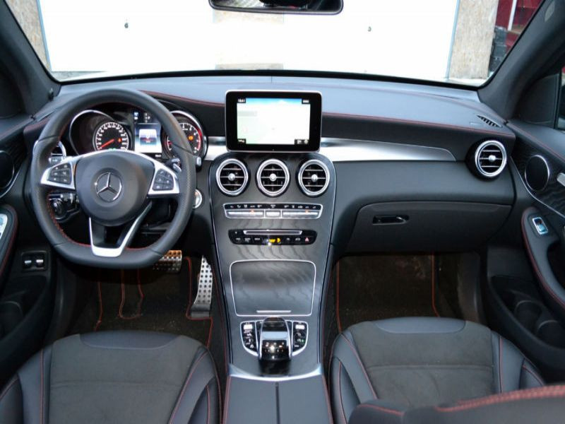 Mercedes GLC 43 4 Matic AMG Noir occasion à Beaupuy - photo n°2