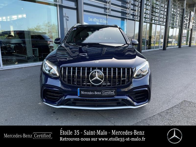 Mercedes GLC 63 AMG 476ch 4Matic+ 9G-Tronic Euro6d-T Bleu occasion à SAINT-MALO - photo n°5