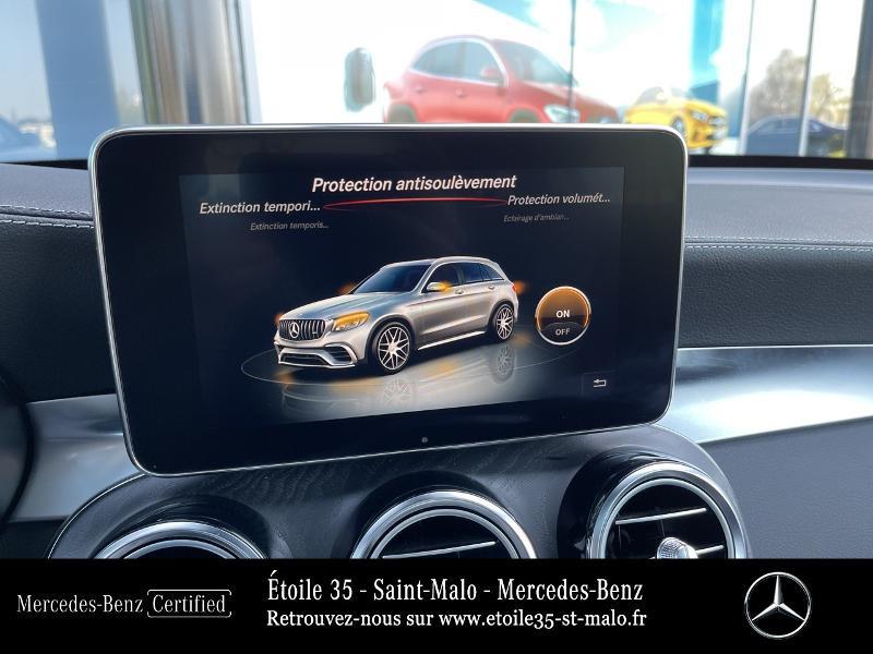 Mercedes GLC 63 AMG 476ch 4Matic+ 9G-Tronic Euro6d-T Bleu occasion à SAINT-MALO - photo n°19