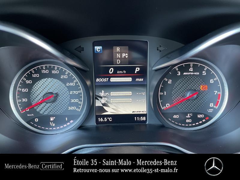 Mercedes GLC 63 AMG 476ch 4Matic+ 9G-Tronic Euro6d-T Bleu occasion à SAINT-MALO - photo n°15