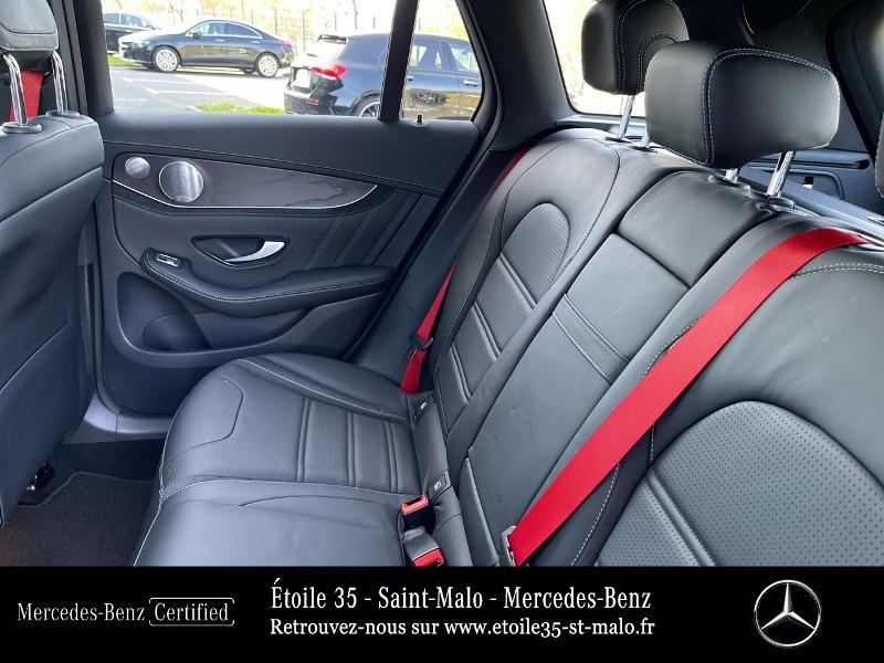 Mercedes GLC 63 AMG 476ch 4Matic+ 9G-Tronic Euro6d-T Bleu occasion à SAINT-MALO - photo n°11