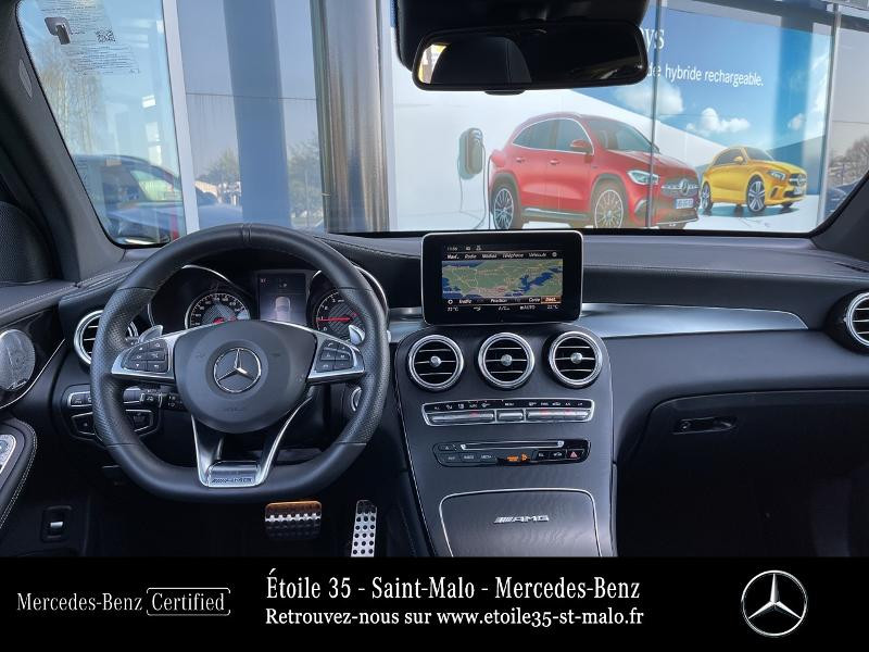 Mercedes GLC 63 AMG 476ch 4Matic+ 9G-Tronic Euro6d-T Bleu occasion à SAINT-MALO - photo n°6