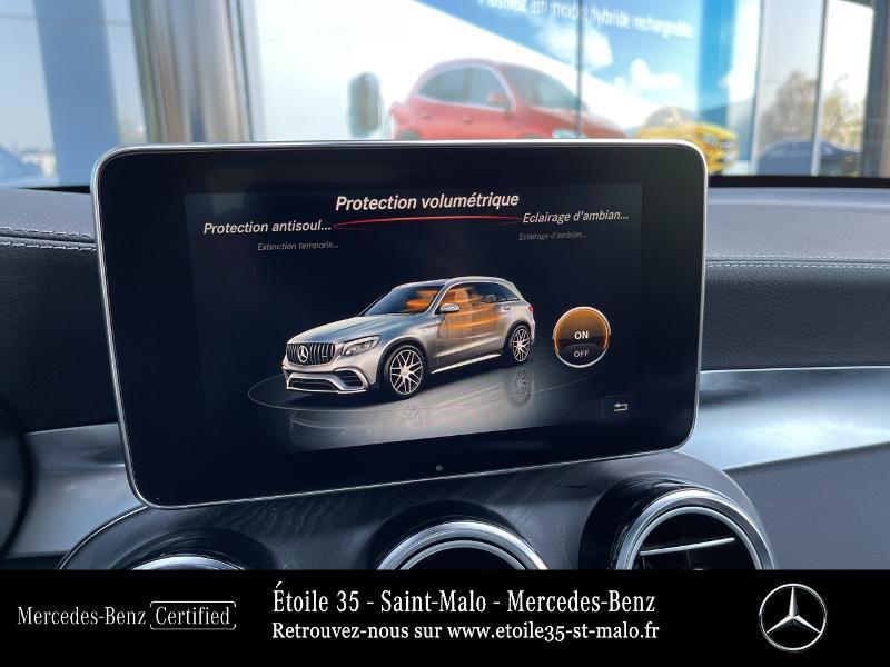 Mercedes GLC 63 AMG 476ch 4Matic+ 9G-Tronic Euro6d-T Bleu occasion à SAINT-MALO - photo n°20