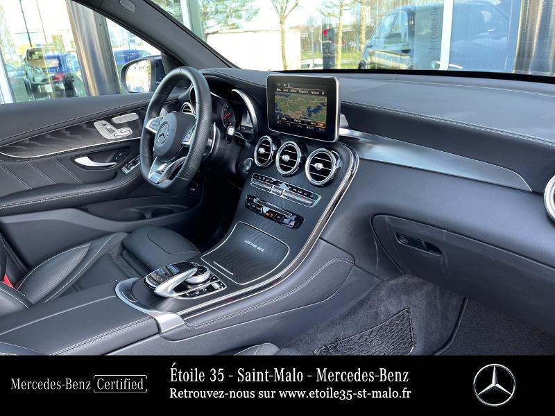 Mercedes GLC 63 AMG 476ch 4Matic+ 9G-Tronic Euro6d-T Bleu occasion à SAINT-MALO - photo n°14
