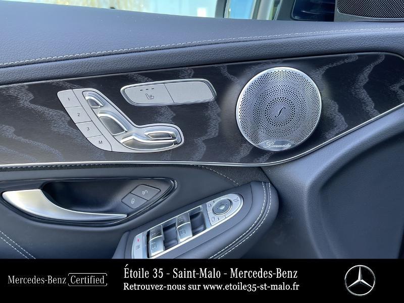 Mercedes GLC 63 AMG 476ch 4Matic+ 9G-Tronic Euro6d-T Bleu occasion à SAINT-MALO - photo n°10