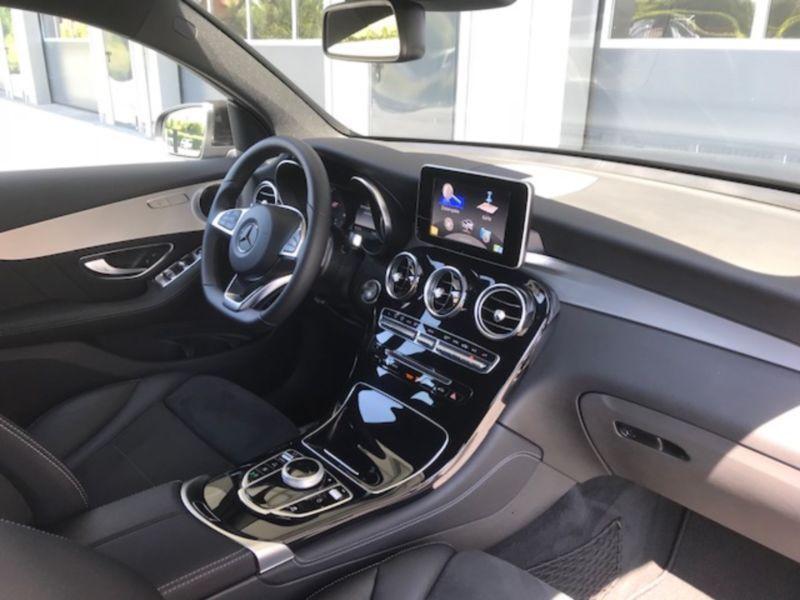 Mercedes GLC Coupé 220 d 4 Matic AMG Noir occasion à Beaupuy - photo n°7