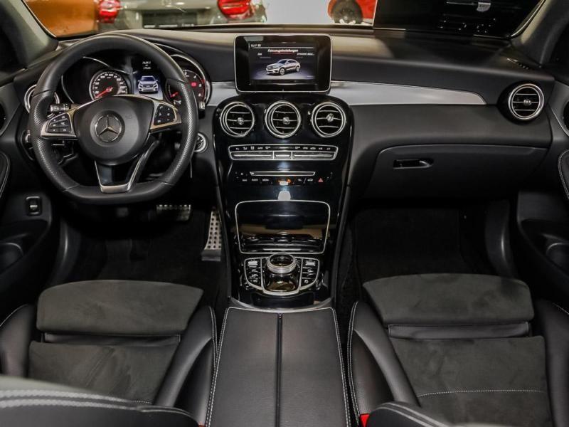 Mercedes GLC Coupé 220 d 4 Matic AMG Gris occasion à Beaupuy - photo n°2