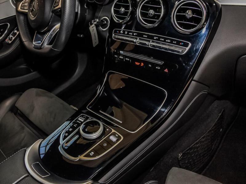 Mercedes GLC Coupé 220 d 4 Matic AMG Gris occasion à Beaupuy - photo n°6