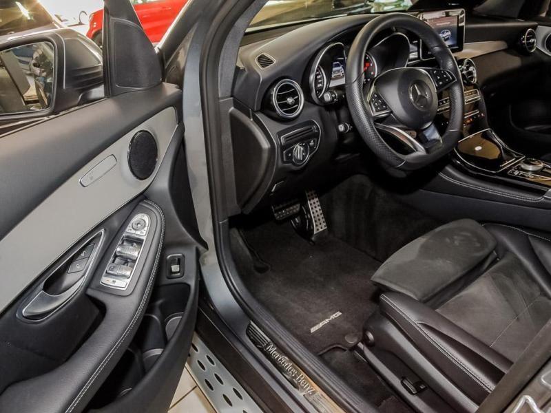 Mercedes GLC Coupé 220 d 4 Matic AMG Gris occasion à Beaupuy - photo n°7