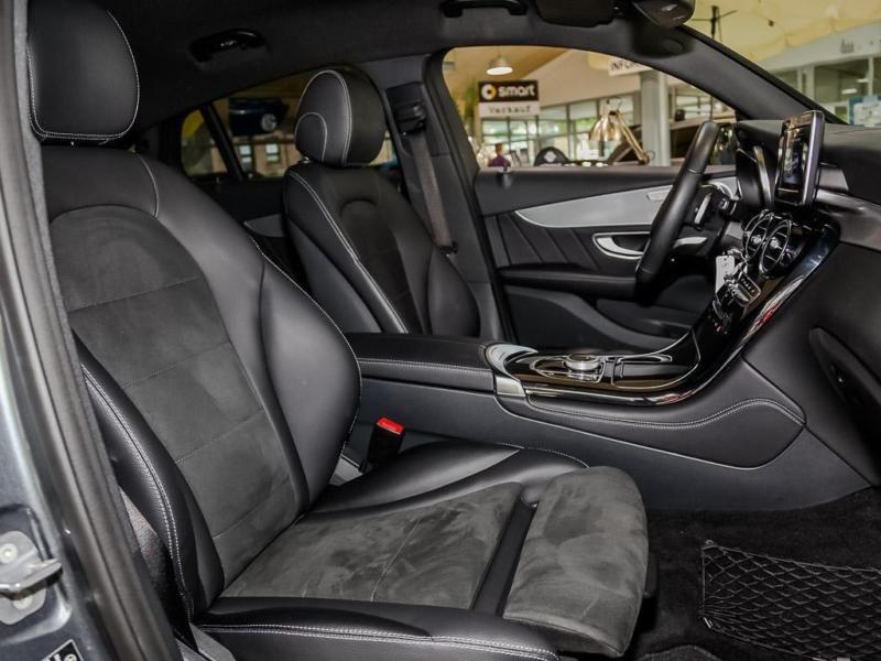 Mercedes GLC Coupé 220 d 4 Matic AMG Gris occasion à Beaupuy - photo n°4
