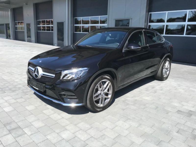 Mercedes GLC Coupé 220 d 4 Matic AMG Noir occasion à Beaupuy