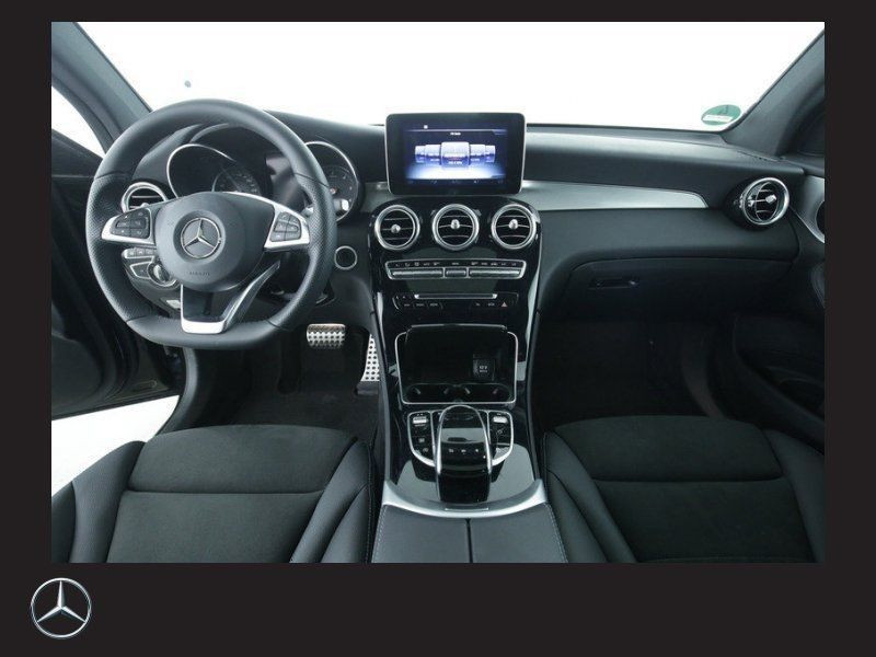 Mercedes GLC Coupé 250 d 4 Matic AMG Noir occasion à Beaupuy - photo n°2