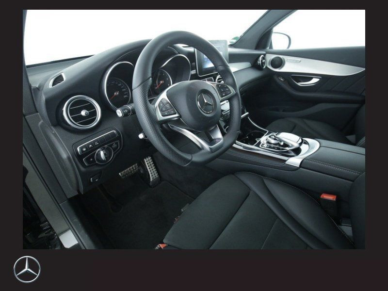 Mercedes GLC Coupé 250 d 4 Matic AMG Noir occasion à Beaupuy - photo n°7