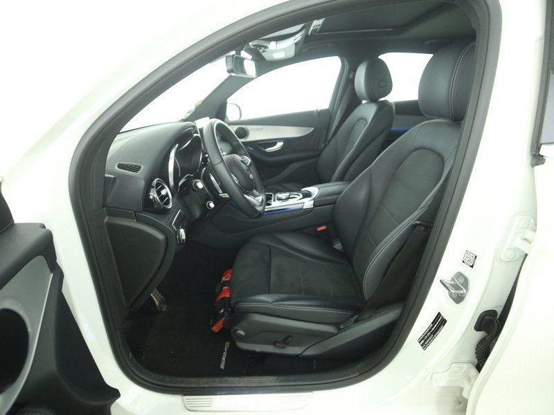 Mercedes GLC Coupé 250 d 4 Matic AMG Blanc occasion à Beaupuy - photo n°4