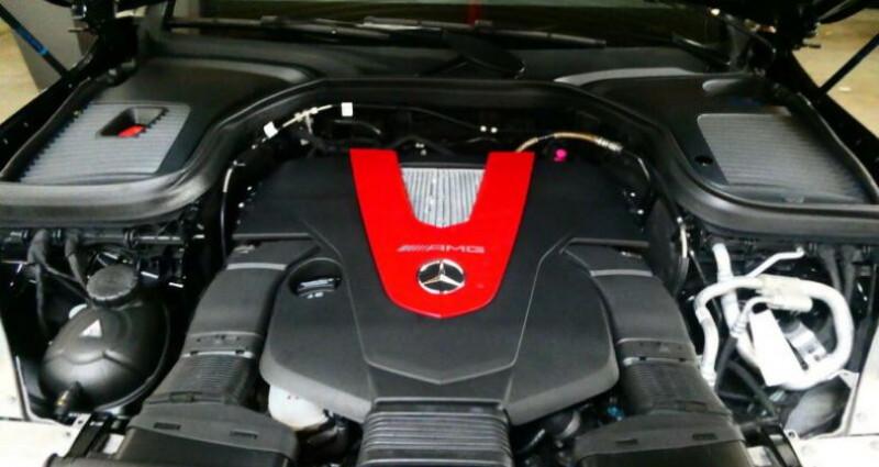 Mercedes GLC Coupe 43 AMG 367ch 9G-Tronic Noir occasion à Boulogne-Billancourt - photo n°6