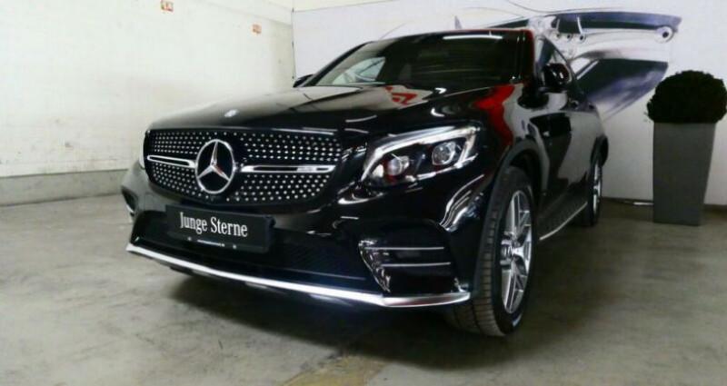 Mercedes GLC Coupe 43 AMG 367ch 9G-Tronic Noir occasion à Boulogne-Billancourt