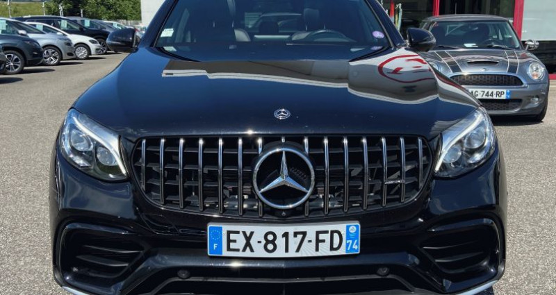 Mercedes GLC Coupe 63 AMG 476ch 4Matic BVA Noir occasion à EPAGNY - photo n°5