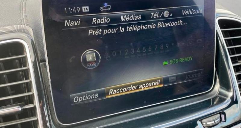 Mercedes GLE Coupe 350 d 258ch Fascination 4Matic 9G-Tronic Noir occasion à Cambrai - photo n°7