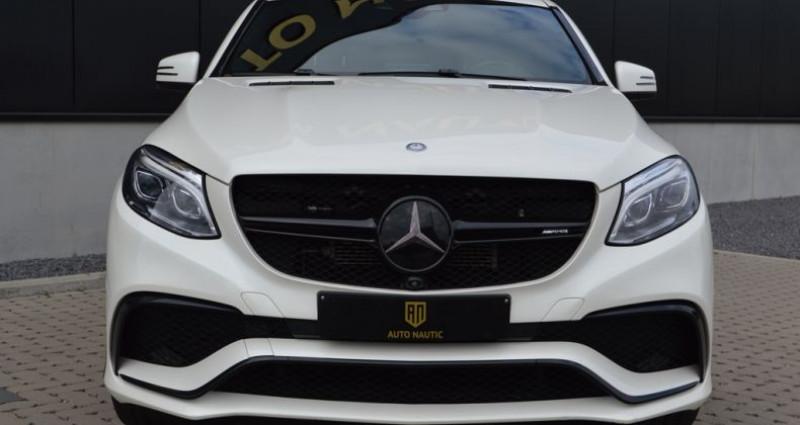 Mercedes GLE Coupe 63 AMG 4 MATIC 557 ch Superbe état !! Blanc occasion à Lille - photo n°3